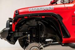 Paramount Automotive Front Inner Fender Liners for 18+ Jeep Wrangler JL & 20+ Gladiator JT 81-21202