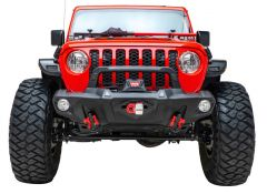 Paramount Automotive Guardian Front Bumper Full Width for 07-20+ Jeep Wrangler JK, JL, & Gladiator JT 81-20301