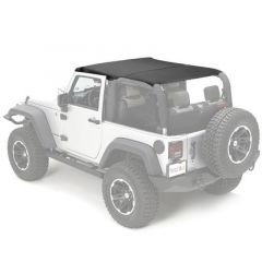 Rugged Ridge Pocket Island Topper Black Diamond 2007-09 JK Wrangler, Rubicon 13588.35