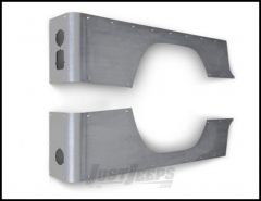 Poison Spyder Crusher Corners Stock Option For 1981-86 Jeep CJ8 (Bare Steel) 12-04-010