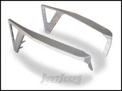Poison Spyder DeFender Fenders - With Negative Style Flares For 1997-06 Jeep Wrangler TJ & TLJ Unlimited Models (Bare Aluminum) 14-02-050-ALUM