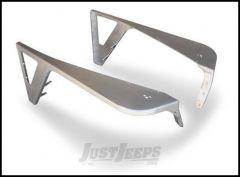 Poison Spyder DeFender Fenders - With Zero Style Flares For 1997-06 Jeep Wrangler TJ & TLJ Unlimited Models (Bare Aluminum) 14-02-060-ALUM
