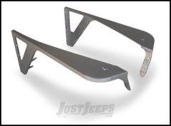 Poison Spyder DeFender Fenders - With Zero Style Flares For 1997-06 Jeep Wrangler TJ & TLJ Unlimited Models (Bare Steel) 14-02-060