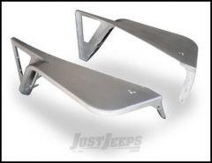 """Poison Spyder DeFender Fenders - With 3"""" Flares For 1997-06 Jeep Wrangler TJ & TLJ Unlimited Models (Bare Aluminum) 14-02-070-ALUM"""