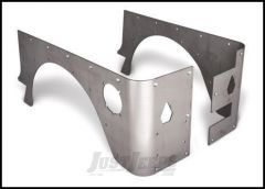 Poison Spyder Crusher Corners Stock Option For 1997-06 Jeep Wrangler TJ(Bare Steel) 14-04-010