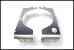 Poison Spyder Crusher Corners Standard Option For 1997-06 Jeep Wrangler TJ (Bare Aluminum) 14-04-020-ALUM