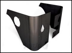 Poison Spyder Trail Corners With Stock Taillight Cut-Out For 1997-06 Jeep Wrangler TJ 14-06-010-PC