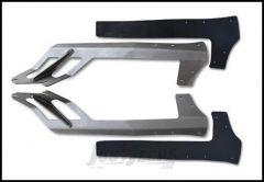 "Poison Spyder Light Bar Mount For Dual Rigid 50"" LED Lightbars For 2007-18 Jeep Wrangler JK 2 Door & Unlimited 4 Door Models (Bare Steel) 45-28-E50"