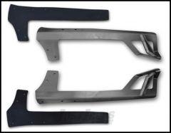 "Poison Spyder Light Bar Mount For Rigid 50"" LED Lightbar For 2007-18 Jeep Wrangler JK 2 Door & Unlimited 4 Door Models (Bare Steel) 45-28-R50"
