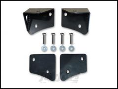 Poison Spyder Lower A-Pillar Light Mounts for Rigid Dually For 1997-06 TJ Wrangler, Rubicon and Unlimited (Pair) 45-28-RDA2