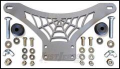 Poison Spyder RockBrawler Hi-Lift Jack Mount For Universal Applications (Bare Steel) 45-61-010