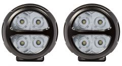 Pro Comp 2x2 Round Spot LED Lights 76412P