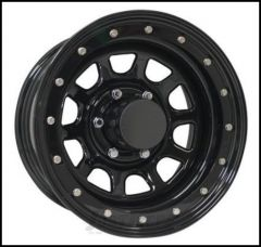 Pro Comp Series 252 Street Lock Wheel 16x8 With 5 On 5.00 Bolt Pattern & 4.25 Backspace In Gloss Black PCW252-6873
