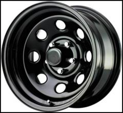 Pro Comp 97 Rock Crawler Series Wheel 15x10 With 5 On 5.50 Bolt Pattern & 3.75 Backspace In Gloss Black PCW97-5185
