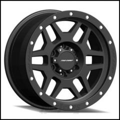 Pro Comp Series 41 Wheel 17 X 9 With 5 On 5.00 Bolt Pattern In Satin Black With Stainless Steel Bolts
