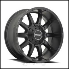 Pro Comp Series 50 10 Gauge Wheel 20 X 9 With 5 On 5.00 & 5 On 5.50 Bolt Pattern In Satin Black PXA5050-292745