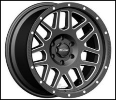 Pro Comp Series 40 Wheel 17 X 9 With 5 On 5.00 Bolt Pattern In Satin Black & Milled PXA5140-7973