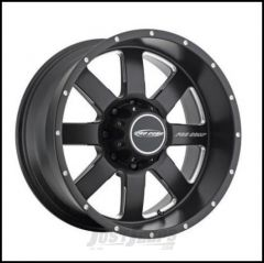 Pro Comp Series 83 Wheel 17 X 9 With 5 On 5.00 Bolt Pattern In Satin Black With Machined Lip PXA5183-7973