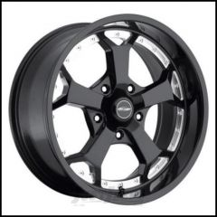 Pro Comp Series 8180 Wheel 20 X 9 With 5 On 5.50 Bolt Pattern In Gloss Black Machined PXA8180-2985