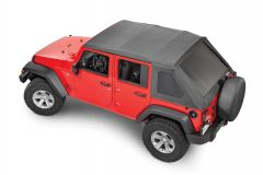 QuadraTop Adventure Top S Soft Top for 07-18 Jeep Wrangler JK Unlimited 11113.1535