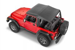 QuadraTop Adventure Top Replacement Soft Top for 04-06 Jeep Wrangler Unlimited TLJ 11113.1035