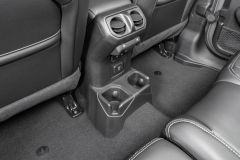 Quadratec Rear Cup Holder Conversion for 18+ Jeep Wrangler JL, JLU with Factory Leather Seats 14125.3030