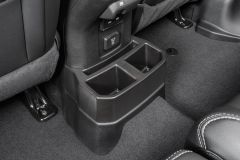 Quadratec Rear Console Tray for 18+ Jeep Wrangler JL, JLU with Factory Leather Seats 14125.3031
