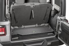 Quadratec Tru-Fit Rear Cargo Liner for 18+ Jeep Wrangler JL 2-Door 14259JL2-