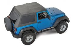 QuadraTop Adventure Top for 07-18 Jeep Wrangler JK 2 Door 11113.0235