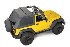 QuadraTop Adventure Top S Soft Top for 07-18 Jeep Wrangler JK 2 Door 11113.1435