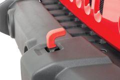 Quadratec Factory Tow Hook Covers for 07-18 Jeep Wrangler JK 92144.7040
