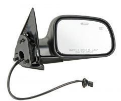 Quadratec Passenger Side Heated Power Mirror for 99-04 Jeep Grand Cherokee WJ 13111.0714