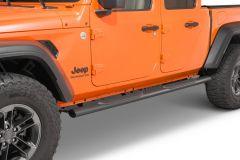 Quadratec QR4 Heavy Duty Oval Side Steps for 20+ Jeep Gladiator JT 12004.3094