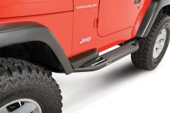 Quadratec QRC Side Armor with Step for 87-06 Jeep Wrangler YJ & TJ 12004.3212