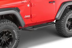 Quadratec QRC Side Armor with Step for 18+ Jeep Wrangler JL 2-Door 12004.3213