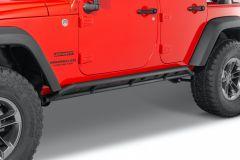 Quadratec Heavy Duty Rocker Guards for 07-18 Jeep Wrangler JK Unlimited 4-Door 12004.3401