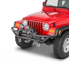 Quadratec QRC Front Bumper for 87-06 Jeep Wrangler YJ, TJ & Unlimited 12057.0102