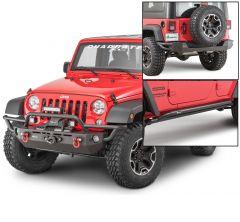 Quadratec QRC Front / Rear Bumper & Rocker Guards for 07-18 Jeep Wrangler JK Unlimited 4-Door 12057K-
