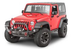 Quadratec Modular Winch Ready Front Bumper for 07-18 Jeep Wrangler JK, JKU 12057.0210