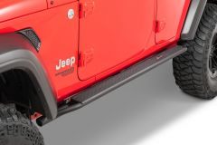 Quadratec Brute Strength Side Steps for 18+ Jeep Wrangler Unlimited JL 4-Door 12057.0271