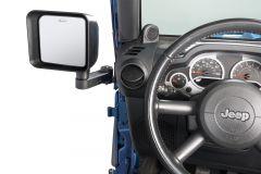 Quadratec Automatic Billet Aluminum Mirror Movers for 07-18 Jeep Wrangler JK 13125.0222