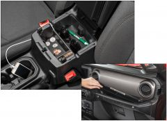 Quadratec Center Console Storage Tray & Grab Bar Tray for 18+ Jeep Wrangler JL and 20+ Gladiator JT 14125.3021