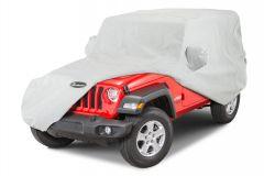 Quadratec Softbond 5-Layer Car Cover for 18+ Jeep Wrangler JL 2-Door 11081.2111