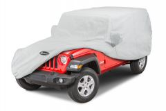 Quadratec Softbond 3-Layer Full Car Cover for 18+ Jeep Wrangler JL Unlimited 11081.2102