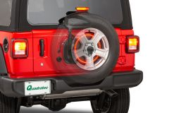 Quadratec 3rd Brake Light LED Ring for 18+ Jeep Wrangler JL, JLU