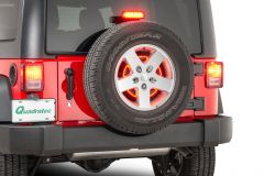 Quadratec 3rd Brake Light LED Ring for 07-18 Jeep Wrangler JK, JKU