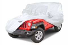 Quadratec Softbond UV Silver Full Cover for 18+ Jeep Wrangler JL 2-Door 11081.2120