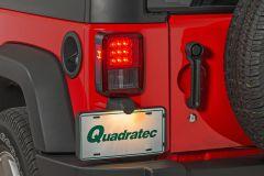 Quadratec LED Tail Lights for 07-18 Jeep Wrangler JK, JKU 55213.0117