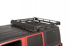 Quadratec Aluminum Roof Rack for 07-18 Jeep Wrangler JK Unlimited 4-Door 92034.1040