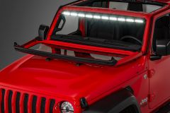 "Quadratec LED Interior Mount 50"" Stealth Light Bar 1-Piece for 18-20+ Jeep Wrangler JL & Gladiator JT 97109.1400"